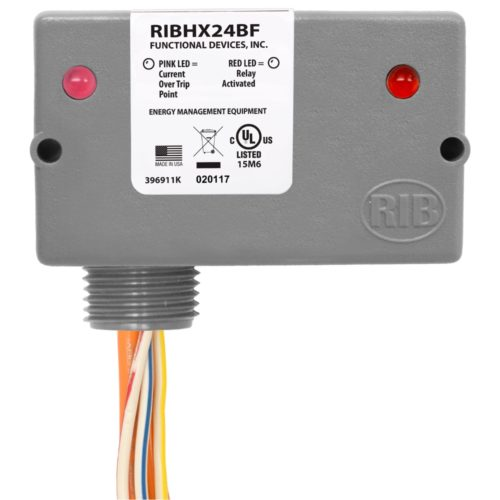 Solid Core Functional Devices RIBXK420-100 Current Transducer Analog 4-20 mA Wire Leads 0-100 Amp
