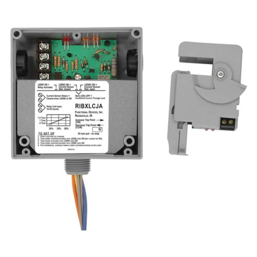 Analog 0-50 Amp 4-20 mA Functional Devices RIBXK420-50 Current Transducer Solid Core Wire Leads